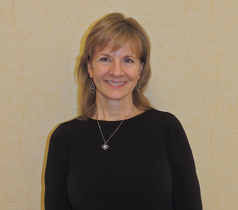 Christine Sperati, Receptionist