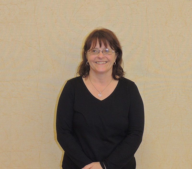 Ellen Johnson, Receptionist