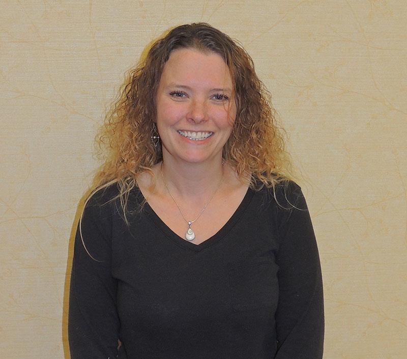 Rebecca McGregor, Receptionist