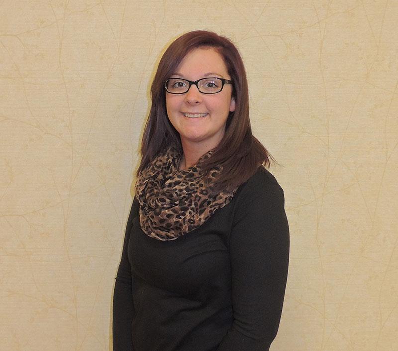 Emily Wilcox, Receptionist