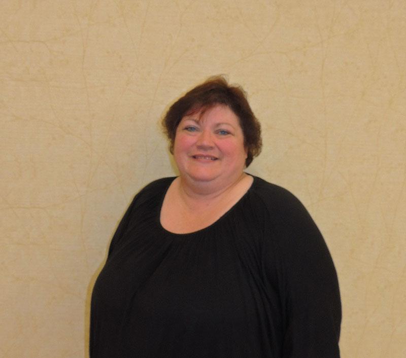 Lori Plowman, Receptionist
